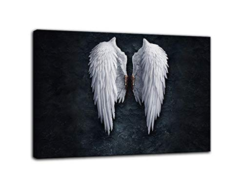 AMEMNY Fire Ice Angel Wings Contemporary Girl Abstract