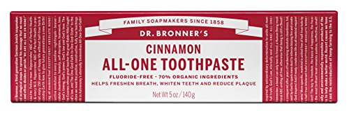 (Dr. Bronner'S Organic Toothpaste All,One, Cinnamon 5 Ounce)