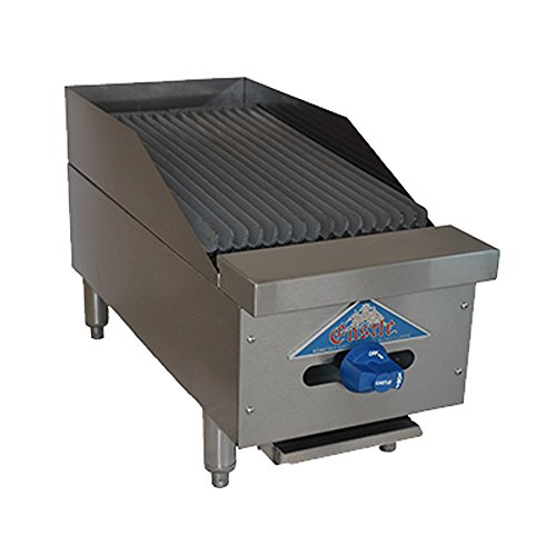 (Comstock Castle FHP12-1RB Gas Countertop Radiant Char Broiler)