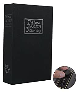 Book Safe with Combination Lock, Ohuhu Dictionary Diversion Book Safe, Portable Safe Box, Great for storing Money, Jewelry, Gun and Passport