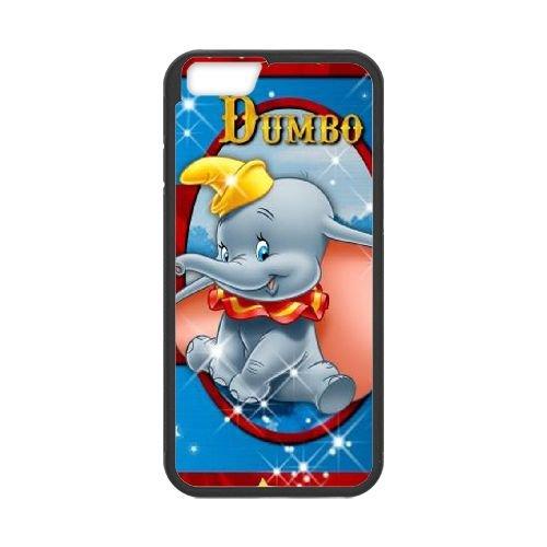 Dumbo 007 coque iPhone 6 Plus 5.5 Inch Housse téléphone Noir de couverture de cas coque EOKXLLNCD18269