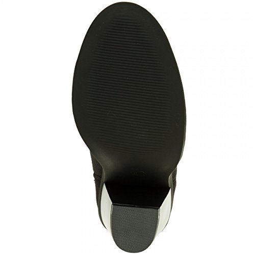 Chelsea Women's Black CASPAR Boots Fashion qUAZwfE