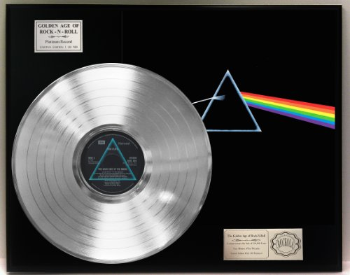 "Pink Floyd""Dark Side Of The Moon"" Platinum LP Record LTD Edi"