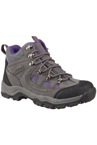 Mountain Warehouse Botas impermeables Adventurer para mujer Gris