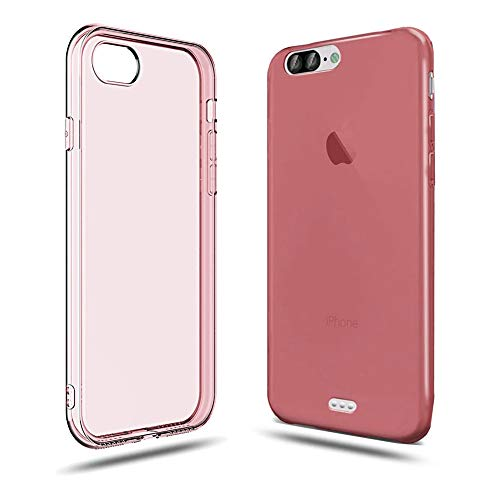 iPhone 7 Case Shock-Absorption Bumper Cover Anti-Scratch Crystal Clear Back (HD Clear) Compatible with iPhone 7/8