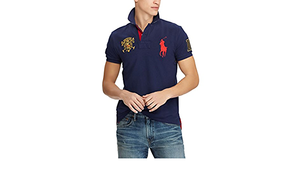 Ralph Lauren - Polo - para Hombre French Navy L: Amazon.es: Ropa