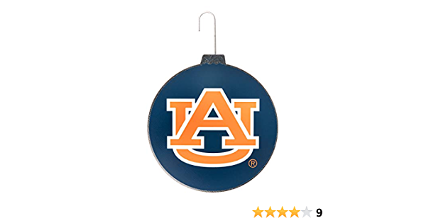 RFSJ Auburn Glass Ornament