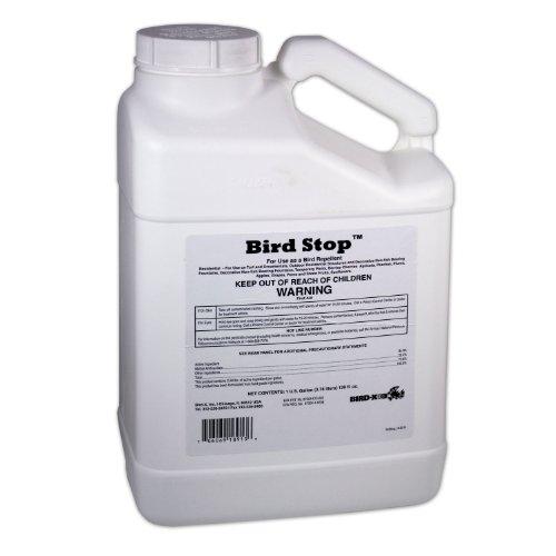 Bird-X Bird Stop Liquid Bird Deterrent, 1-Gallon