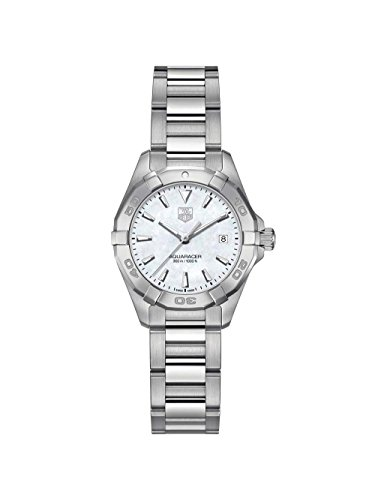 Tag Heuer Aquaracer White Mother of Pearl Dial Ladies Watch WBD1411.BA0741