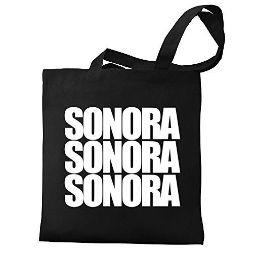 words three Eddany Tote Eddany Canvas Bag Sonora Sonora words three dgwqYnBpx