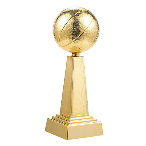 Juvale Basketball Trophy - Gold Award Trophy for Sports Tournaments, Competitions, 3 x 9.5 x 3 Inches ()