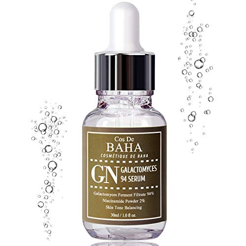 Galactomyces 94% Treatment Essence Serum 1oz + Niacinamide 2% - Korean Skin Care for Pore Minimizer + Uneven Skin Tone Treatment + Brightness for Facial + Gluten Free, 1oz (30ml)