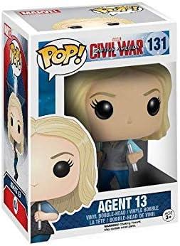 Funko 7232 Agent 13  Marvel Captain America Bobble Head