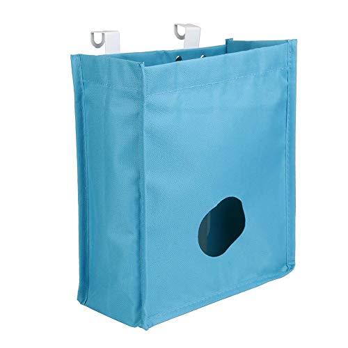 (Oxford Cloth Extract Garbage Bags Door Back Trash Rack Storage Bag Holder Space Saver Cabinet Hanging Organization)