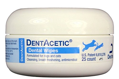 Dog Dentacetic (Dentacetic Wipes 25 Ct Jar)