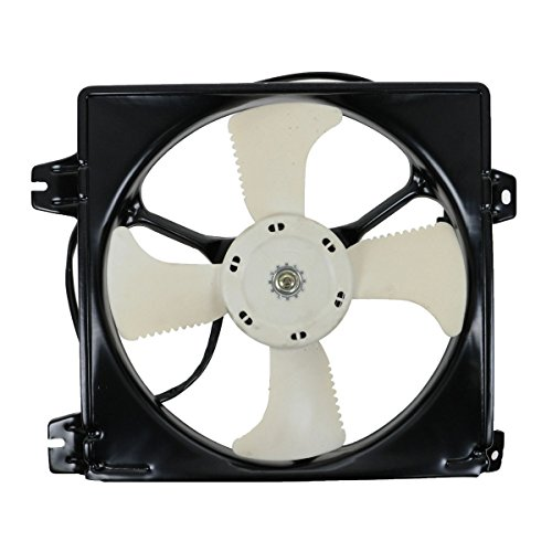 AC A/C Condenser Cooling Fan w/Motor Assembly for 99-03 Mitsubishi Galant