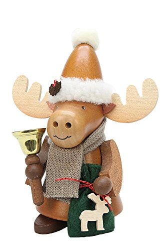 Christian Ulbricht German Smoker - Elk Santa - Elk Cuckoo Clock