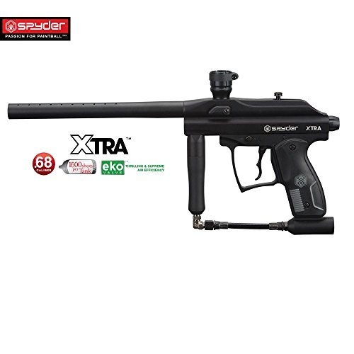 Kingman Empire Spyder Xtra Paintball Gun - Diamond Black