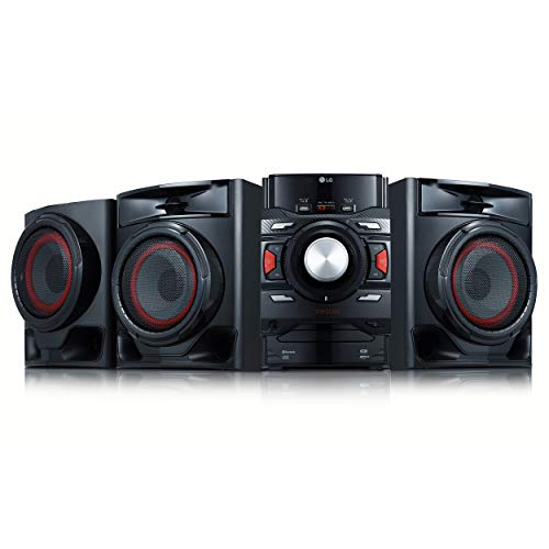 LG CM4590 XBOOM XBOOM Bluetooth Audio System with 700 Watts Total Power (Bluetooth Speaker Shelf)