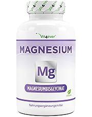 Magnesium bisglycinaat - 240 capsules - Premium: Chelated magnesium - 155 mg elementair magnesium per capsule - Veganistisch - Hooggedoseerde formule