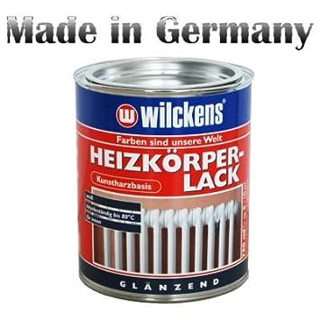 Heizkörper Farbe heizkörperlack weiß glanz heizkörperfarbe 750ml zirka 10m amazon