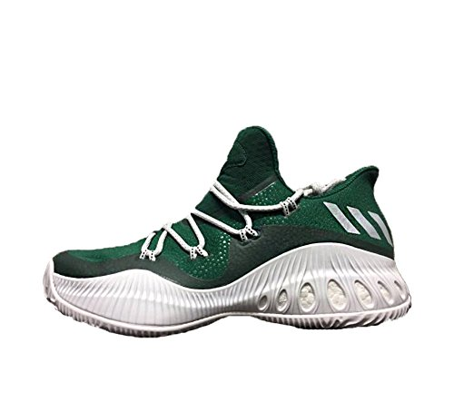 footlocker pictures outlet largest supplier adidas Crazy Explosive Low NBA/NCAA Shoe Men's Basketball Collegiate Green-white-light Grey cheap sale get authentic GNwrt