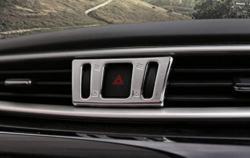 CarAutotrim Bande de Protection de climatisation pour Qashqai 2014-2019 ABS Chrom/é