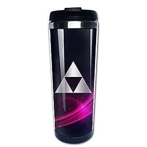 Stainless Steel Zelda Triforce Platinum Style Tumbler Coffee Mug