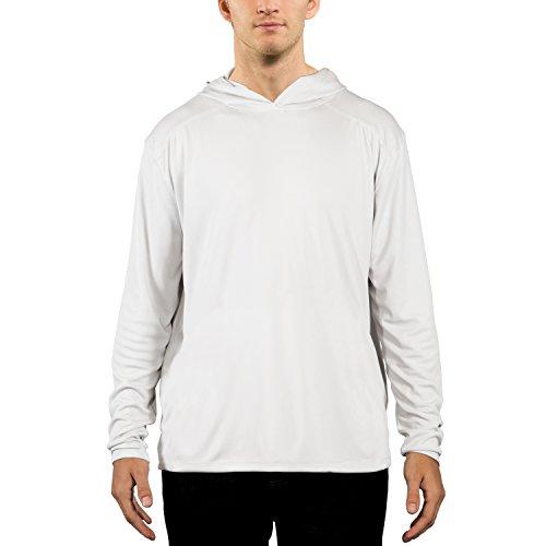 Vapor Apparel Men's UPF 50+ UV Sun Protection Performance Long Sleeve Hoody Small ()