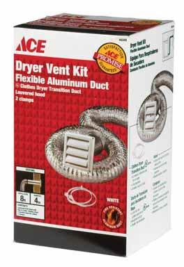 Supurr-Flex Dryer Vent Kit (ACESK8WF) ()