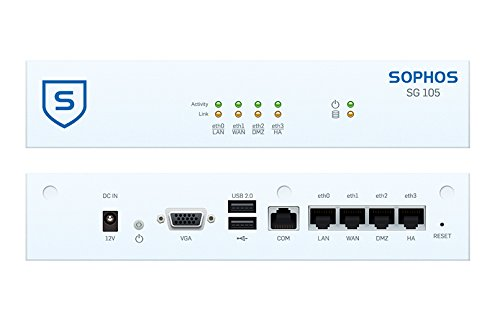 Sophos | SW1ATCHUS | SG 105w Security Appliance WiFi - US power cord by Sophos (Image #3)