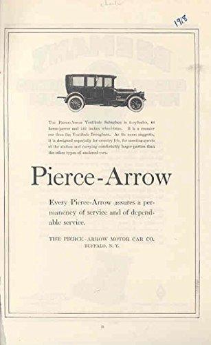 1918 Pierce Arrow 48 Suburban Ad Beeman