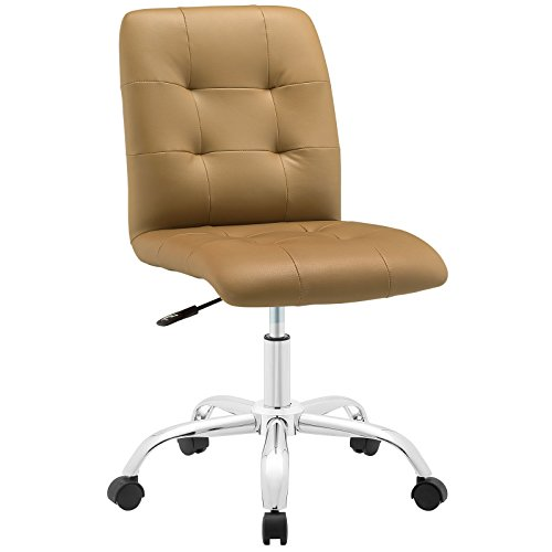Prim Mid Back Office Chair - Tan