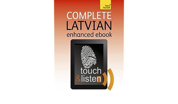 Complete Latvian: Teach Yourself: Audio eBook (Teach Yourself Audio eBooks) (English Edition) eBook: Tereza Svilane: Amazon.es: Tienda Kindle
