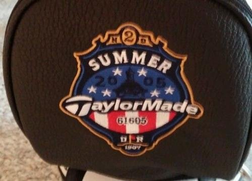 Fred Funk Autographed Taylormade R7 full size golf bag Summer 05 season open 1/2 Autographed Golf Equipment