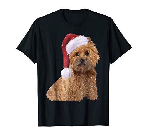 Let it Snow Christmas Holiday Cairn Terrier Dog T-shirt