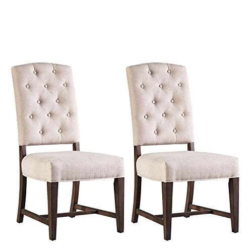 Standard Furniture Paisley Court 2-Pack Upholstered Side Chairs, - Chair Standard Bay Dining