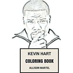 Kevin Hart Coloring Book: Best Comedian and Writer Black Comedy and Fun Actor Inspired Adult Coloring Book (Comedy Coloring Book)