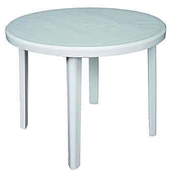 areta ar004 zeus table ronde 90 x 72 cm - Table Ronde Jardin