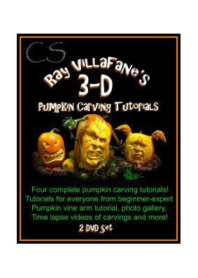 Ray Villafane's 3D Pumpkin Carving Tutorials