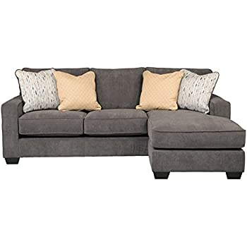 Amazon Com Benchcraft Braxlin Contemporary Sofa Chaise