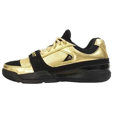 adidas Men's TS Lightswitch Low ( sz. 10.0, Metallic Gold/Black/White (Vote For Gilbert) )
