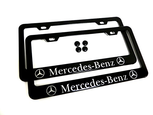mercedes benz frame license plate - 5