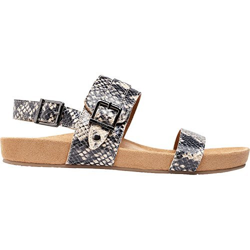 Cream Vionic Shiny Womens 342 Snake Sandals Leather Samar f80frwqP