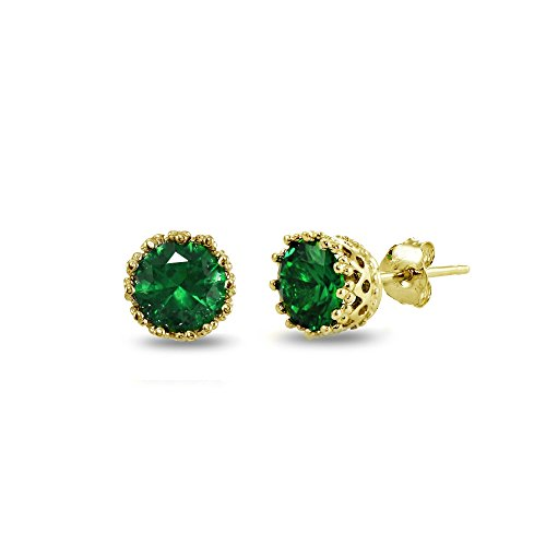 Yellow Gold Emerald Ring - 7