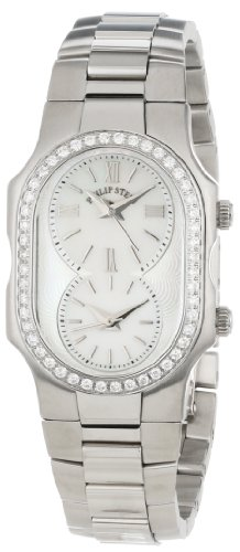 Philip Stein Women's 1D-CMOP-SS Signature Diamond Stainless Steel Bracelet Watch