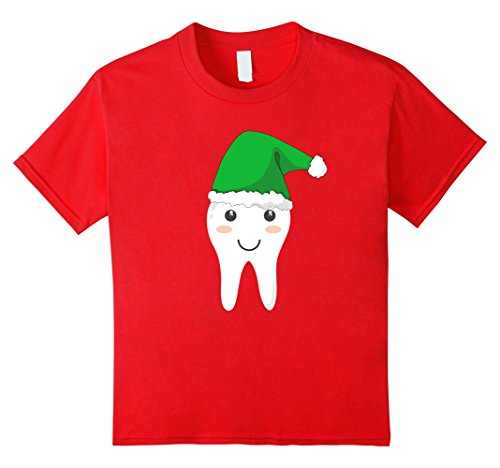 Tooth Fairy Costumes Ideas (Kids Cute Tooth Fairy Costume Shirt with Santa Cap for Christmas 8 Red)