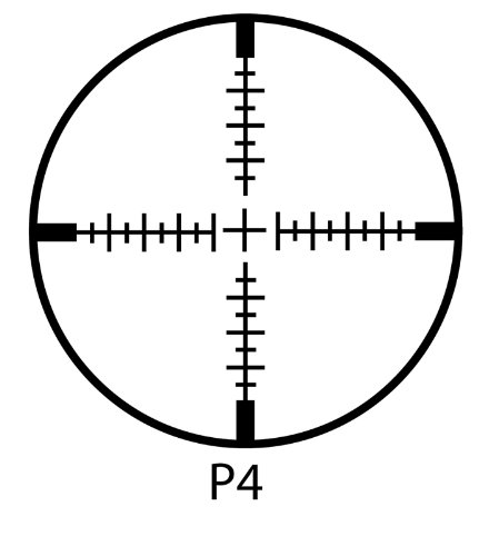 BARSKA Ridgeline Side Parallax Riflescope (Black Matte, 4-16x44)
