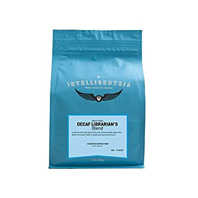 Intelligentsia Decaf Librarian's Blend - 12 oz - Roasted Fresh To Order, Medium Roast, Water-Processed, Direct Trade, Whole Bean Coffee