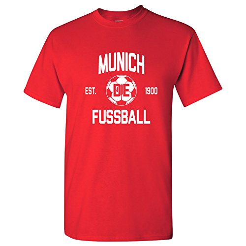 Kit World Classic Soccer Football Arch Cup T Shirt - Large - Red ()